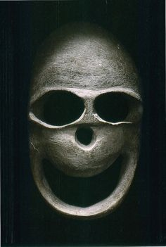 Funerary mask, Middle East, Chalcolithic period, 5,000-3,000 BC