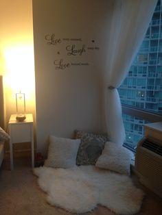 DIY cozy corner @rimz