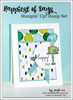 Happiest of Days from Stampin Up