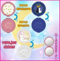Maletas, pendientes, anillos, espejos, bolsos, peluches y figuras - Sailor Moon España