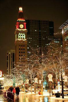 Downtown Denver, Colorado, USA