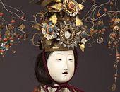 Antique Japanese Dolls - hina ningyo, page 1 Hina Dolls, Art Dolls, Hina Matsuri, Girl Day, Doll Crafts, Figure Drawing, Traditional Art, Beautiful Dolls, Kyoto