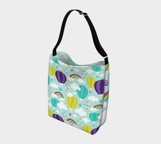 Up & Away Trendy Tote – Nuggles Designs Canada