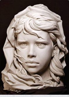 Portrait sculpture by Philippe Faraut - French sculptor living in the USA Portrait Sculpture, Art Sculpture, Stone Sculptures, Sculpture Images, Animal Sculptures, Zbrush, Famous Sculptures, Love Art, Amazing Art