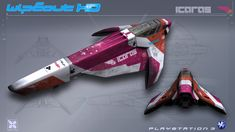 Icaras - WipEout HD - PS3 by nocomplys.deviantart.com on @DeviantArt
