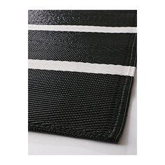 Sofia tela por metros de rayas anchas negro blanco - Telas exterior ikea ...