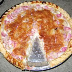 Rhubarb Custard Pie III