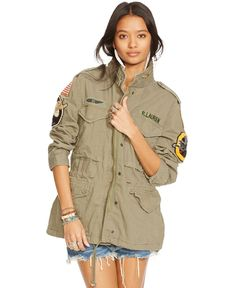 Denim & Supply Ralph Lauren Patched Field Jacket