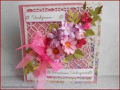 Mój świat kolorów...: Urodzinowo- Imieninowa w różowościach...