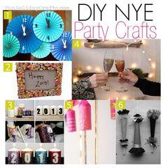 6 #DIY #NYE Party #Crafts
