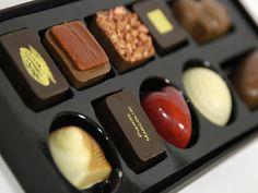 Pierre Marcolini premium chocolate and macarrons
