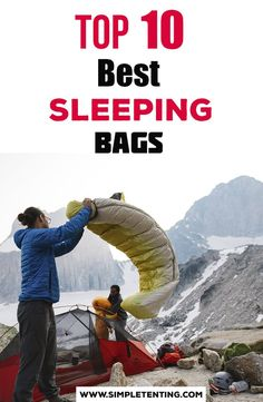 The Best Camping Sleeping Bags that are completely affordable! Prices under 200 dollars makes our list the very best sleeping bags for your next overnight adventures!