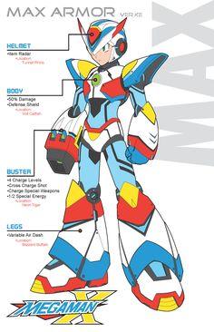 Mega Man X - Max Armor