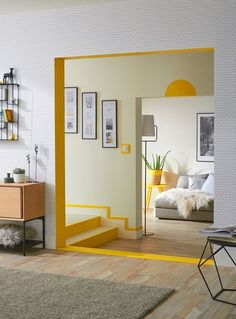 Home Decor Inspiration .Home Decor Inspiration Living Room Decor, Living Spaces, Bedroom Decor, Decor Room, Retro Living Rooms, Bedroom Wall Designs, Bedroom Ideas, Dining Room, Room Inspiration