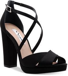Nina Marylyn Platform Evening Sandals Women's Shoe…