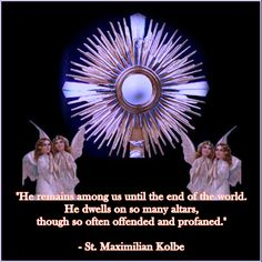 I will be with You in Adoration as long as You let me my Lord.