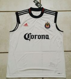 39689942fc4 Rare NWT ADIDAS C.D. Chivas USA MLS Sleeveless Soccer Jersey Men's Large |  eBay