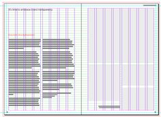 Grid, baselines and page designs