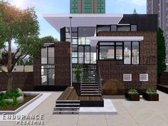 Endurance house by peskimus - Sims 3 Downloads CC Caboodle