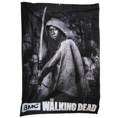 The Walking Dead - Michonne Banner Fabric Poster Amc Walking Dead, Fear The Walking Dead, Wall Banner, Season Premiere, Dead Inside, Popular Movies, Daryl Dixon, Couture, How Are You Feeling