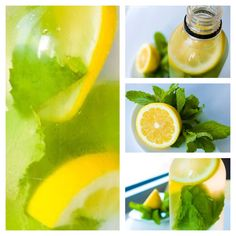 Minted Lemon Water