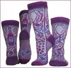 Ravelry: Hilde's Vinsokk pattern by H-Strikk Crochet Granny, Knit Crochet, Crotchet, Spa Items, Mercerized Cotton Yarn, Mittens Pattern, Garter Stitch, Knitting Socks, Homemade Gifts