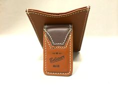 """Believer"" Credit Card & ID Holder with Money Clip"