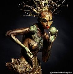 Body painting, or body art, is a temporary painted design applied to human skin. Body painting is largely a creative expression however there are applications outside of the art world such as in th… Body Painting Pictures, Art Pictures, Misty Copeland, Skin Wars, Art Tribal, Fantasias Halloween, Fairy Makeup, Face Art, Nice Body