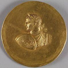 Medallion with Roman Emperor Caracalla ca. 215-243 (Imperial Roman)