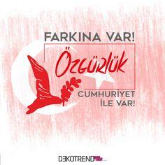 Cumhuriyet bayramımız kutlu olsun #dekotrend #29ekim #cumhuriyetbayrami