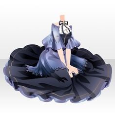 @trade | 捕われたお菓子の魔女のアイテム一覧 Drawing Anime Clothes, Manga Clothes, Dress Drawing, Anime Outfits, Chibi, Anime Dress, Fashion Design Drawings, Dress Sketches, Fantasy Dress