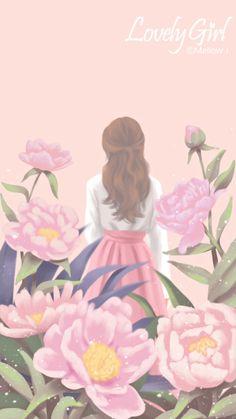57 trendy ideas for art drawings girl korean Anime Girl Drawings, Anime Art Girl, Art Drawings, Cartoon Girl Images, Cute Cartoon Girl, Walpapper Tumblr, Cute Girl Drawing, Digital Art Girl, Image Manga