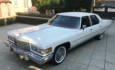 Bid for the chance to own a No Reserve: 1976 Cadillac Fleetwood Brougham at auction with Bring a Trailer, the home of the best vintage and classic cars online. Cadillac Ats, Cadillac Fleetwood, Red Floor, Classic Cars Online, Leather Interior, Automatic Transmission, Foot Rest, Automobile, 1970s