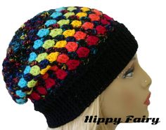 ... Crochet Hats, Red Hats, Puff Stitches, Crochet Patterns, Stitches Hats
