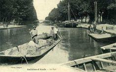 Robine at Salleles d'Aude