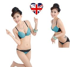 Bra ,women's lingeries set, sexy & comfortable everyday lingerie set (Blue, 32 / 70 B) luv to buy Ltd http://www.amazon.co.uk/dp/B00MR9KG4M/ref=cm_sw_r_pi_dp_KMM7tb15ECQEZ