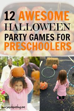The Best Halloween Party Games For Kids | Seaside Sundays