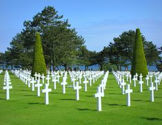 American Cemetery at Omaha Beach:  Colleville-sur-Mer, France  Interesting choice for favorite things but it is hands down one of the most beautiful places I've ever visited.