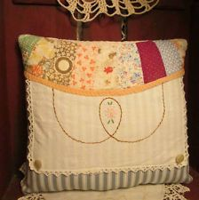 Lovely use of quilt and linens