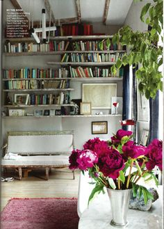 Brooklyn home of Miranda Brooks and Bastien Halard. Photograph by Francois Halard.