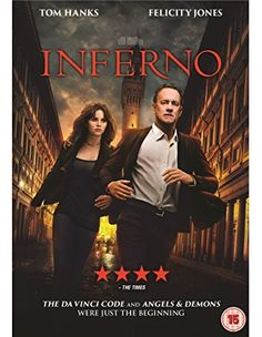 Inferno [DVD] [2016] £9.99 to buy with free UK delivery.  Amazon Bestsellers Rank: 9 in DVD & Blu-ray (See Top 100 in DVD & Blu-ray)      #1 in DVD & Blu-ray > Thriller     #1 in DVD & Blu-ray > Crime     #3 in DVD & Blu-ray > Drama