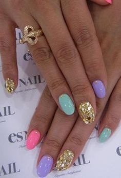 Easy Nail Designs For Short Nails… My goal in life is not to have a cat manicure. Get Nails, Love Nails, How To Do Nails, Hair And Nails, Nailart, Nagellack Trends, Thanksgiving Nails, Thanksgiving Ideas, Easter Nails