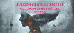 SUBCONSTIENTUL: 7 SECRETE uimitoare despre mintea umana Cover, Books, Movie Posters, Art, Art Background, Libros, Book, Film Poster, Kunst