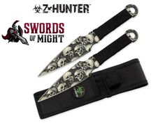 Z Hunter Zombie Throwing Knives