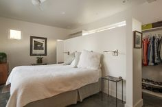 efficient layout for a master bedroom. Contemporary Bedroom by Lucy Call