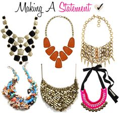 statement necklaces #weddings #bride #necklace