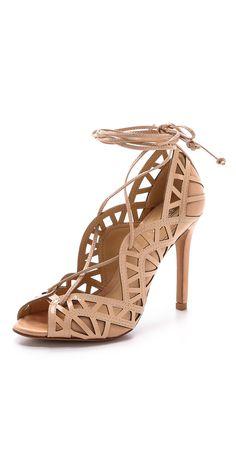 Schutz Dubianna Lace Up Sandals | SHOPBOP