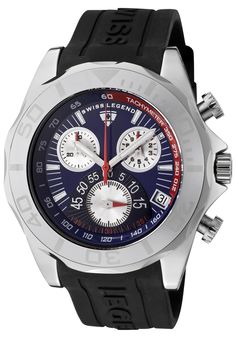 7ab0e01d757 (Limited Supply) Click Image Above  Swiss Legend 18010-01 Men s Tungsten  Chronograph