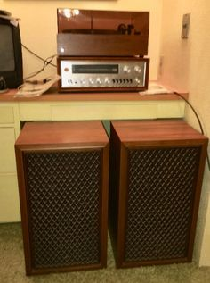 Found on EstateSales.NET: Pioneer SX-1000TW Stereo Receiver, Duel 1219 Turntable, Sansui SP-1000 Speakers