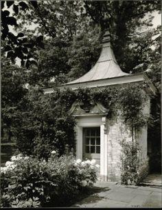 Mrs. J Ogden Armour. Garden House. David Adler #gardenvineshouse